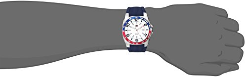 Tommy-Hilfiger-Mens-1790885-Stainless-Steel-Watch-With-Blue-Silicone-Band-0-0