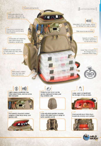 Wild-River-by-CLC-WT3604-Tackle-Tek-Nomad-Lighted-Backpack-with-Four-PT3600-Trays-0-0
