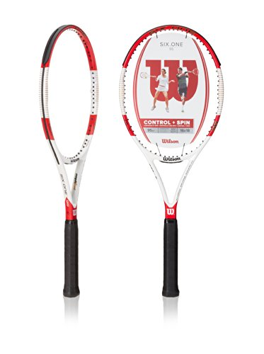 Wilson-SixOne-95-16-x-18-String-Pattern-Tennis-Racquet-0