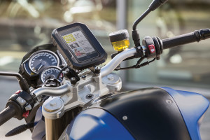 BMW Motorrad has launched its Smartphone Cradle for motorcycles and scooters.