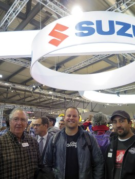 Suzuki dealers from across the U.S. were treated to a trip to Italy as part of a sales incentive contest.