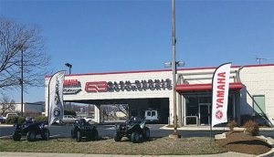 The new Glen Burnie Motorsports is housed in a former Saturn auto dealership, about 10 minutes outside of Baltimore.