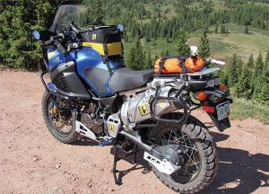 Sales of tank grips for adventure touring bikes like the Yamaha Super Tenere have helped TechSpec sales grow by 25 percent in the first quarter of 2013.