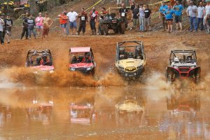 Side-by-sides race through the mud at the High Lifter ATV Mud Nationals in Jacksonville, Texas, which was held March 20-24. A similar event, called the Quadna Mud Nationals, will take place in June in Minnesota.