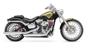 The CVO Breakout was one of two limited-production models Harley-Davidson introduced in August.