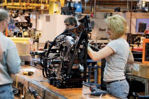 Harley-Davidson has implemented a new surge manufacturing process since Keith Wandell took over as CEO in 2009. The company's vehicle operations plant in York, Pa., was the first facility to implement the new system.