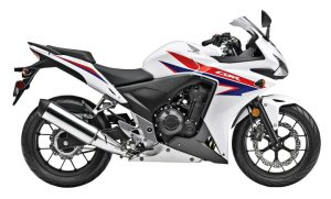 American Honda credited sales of its CBR500R for a strong fiscal first quarter.