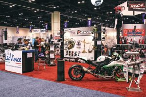 LeoVince USA's distributorship will be growing now that Tim Calhoun has taken ownership. Three new brands were added to the lineup at AIMExpo in Orlando.