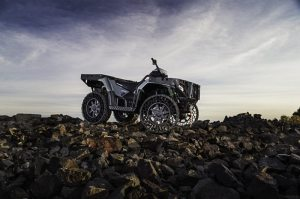The Sportsman WV850 H.O. with Terrain Armor will be available to consumers looking for a true work vehicle, in December 2013, in very limited quantities.