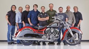 A small and dedicated team from Polaris Industries' Industrial Design team was tasked with customizing a stock 2014 Indian Chief Classic.