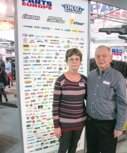 Fred Fox, alongside his wife Paula, has seen continued growth from Parts Europe.