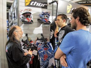 Parts Europe, based in Germany, supplies dealers in 51 countries with its range of products, including Parts Unlimited's Thor brand. Dealers checked out the line at EICMA in Milan, Italy.