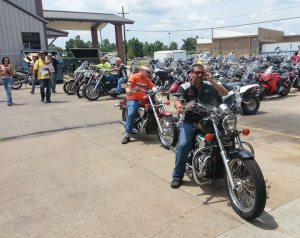 The auction's goal was to bring new customers to the motorcycling lifestyle.