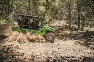 Kawasaki will showcase its Teryx4 LE during Professional Bull Riders events in 2014.