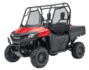 UTVs that offer recreational fun in a utility-capable package like the 2014 Honda Pioneer 700 are responsible for the majority of sales in North America.