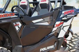 DragonFire has unveiled its new door panels for the RZR  XP 1000.
