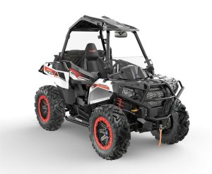 The all-new 2014 Polaris Sportman ACE blends power, performance and capability in what can be best described as a single-seat ide-by-side.