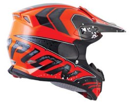 Team Ski-Doo Hillclimb Racing members are wearing Scorpion's new VX-R70 helmet in 2014.