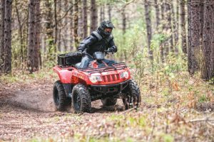 Arctic Cat's 500 EFI mid-size recreation model is its best-selling ATV.