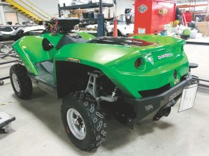Gibbs Sports Amphibians has added premium colors, such as green and white, to its Quadski lineup.