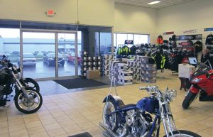 Previously an online-only retailer, iMotorsports in Chicago moved into a former Saturn dealership and added PG&A and service to its offerings.