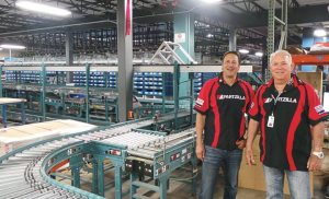 Martin Polo (left) and Tom D'Azevedo in Partzilla's ever-growing warehouse in Albany, Ga. The two also operate Powersports Plus, a Kawasaki Ichiban dealership in the city that also sells Yamaha, Honda and Polaris.