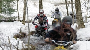 """""""Chip's Winter Ride"""" features the Rokon riders in a half-hour program as they take on snow, rocks and water."""