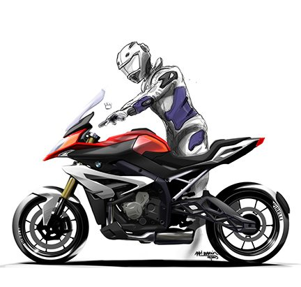 BMW S1000XR Graphica