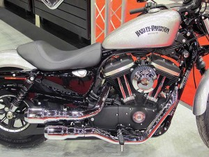 Vance & Hines had heavy interest in the brand's new-for-2015 High Output Grenades for Harley-Davidson Sportster, Dyna and Softail models during V-Twin Expo.