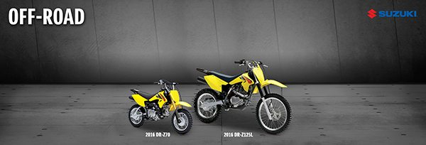 Suzuki launches 2016 off-road models, featuring new RM-Z250
