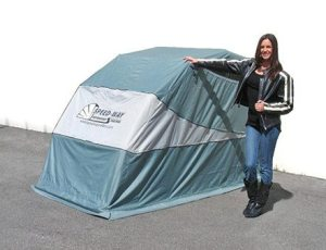 Speed-Way Motorsports Shelters are now available in Canada, thanks to distribution by Motovan.