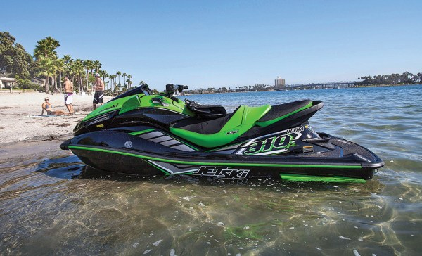 The Kawasaki Jet Ski Ultra 310R swept the podium at the Long Beach to Catalina and Back race.