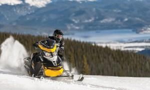 The Pilot TS adjustable track comes standard on Ski-Doo's MXZ Blizzard, Renegade Enduro and Grand Touring SE models.