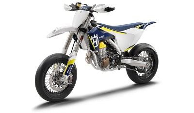 The 2016 Husqvarna FS 450 offers significant weight savings compared to the 2015 model.