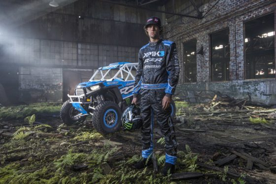 The highly anticipated third installment of RJ Anderson's mind bending viral off-road video series, XP1K3, launches November 3rd via UTVUnderground.com. Mad Media chose the post apocalyptic dystopian decay of abandoned steel mills, old factories, and train yards as the backdrop to showcase RJ Anderson's skillful car control and death defying stunts. The XP1K viral film series has accrued more than 16 Million aggregate video views across YouTube, Facebook and Instagram.  The adrenalized-branded video campaign has made hundreds of millions of impressions worldwide, redefining the Sport Utility Vehicle (UTV) and Side-by-Side (SxS) market. (PRNewsFoto/UTVUnderground.com)