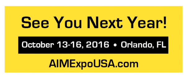 AIMExpo Next Year dates