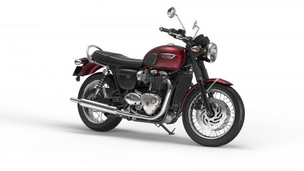 Bonneville T120 in Cinder Red