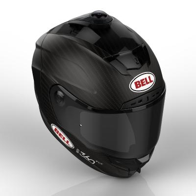 360fly BRG Motorcycle Helmet (PRNewsFoto/360fly)