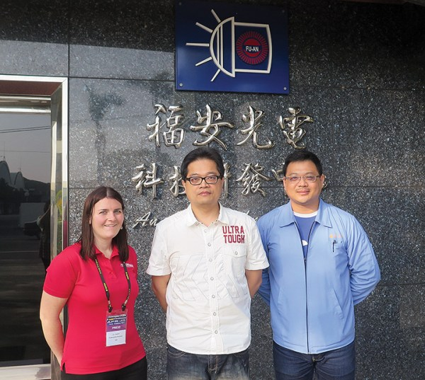 Day 2 concluded with a visit to FU-AN Optoelectronics-Technology Co., Ltd.
