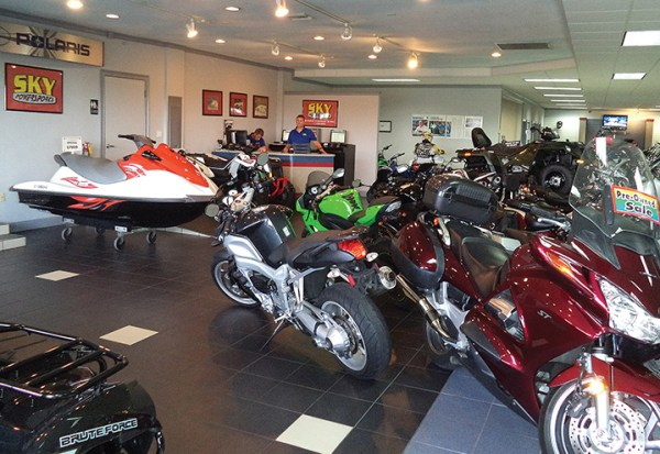 Between monthly customer appreciation events and partnering with charities, Sky Powersports works to give back to the communities that surround each dealership.