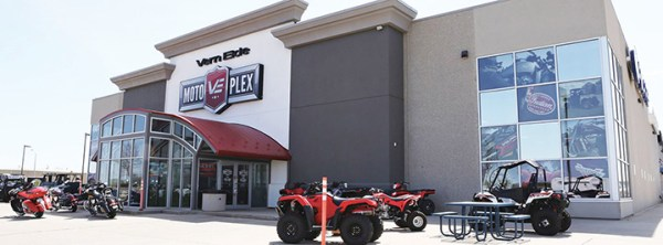 Verne Eide Motoplex in Sioux Falls, S.D., has grown extensively over the past two years.