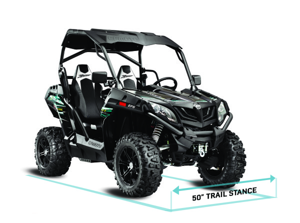 ZForce 50in_trail_stance_3Q_view