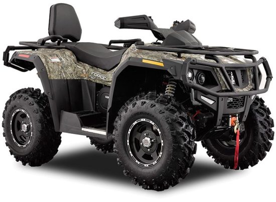 The 2016 HISUN Forge 750 (above and below) joins the new 450 and 550 as 2-Up offerings in the growing brand's lineup.