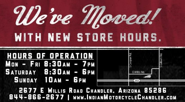 IndianMotorcycleChandlerNewStore