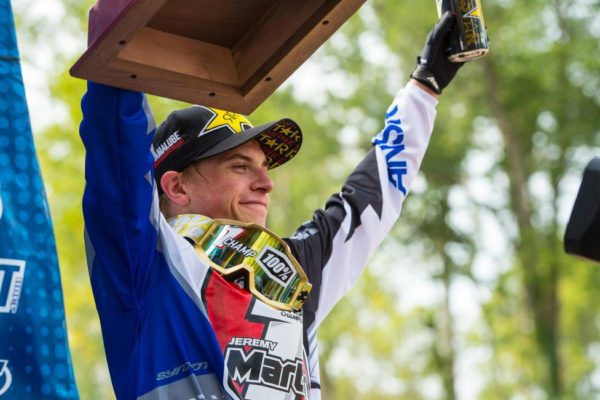 Jeremy Martin will attempt to become the fifth rider in 250 Class history to win three straight championships in 2016. Photo credit: Simon Cudby