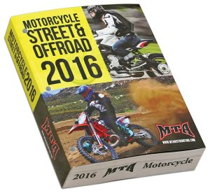 Recently released, MTA Distributing's motorcycle catalog totals 1,282 pages.