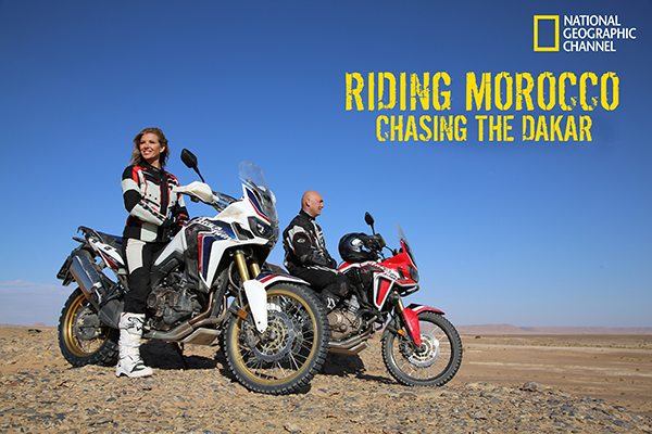Africa Twin to Appear on National Geographic Channel Program