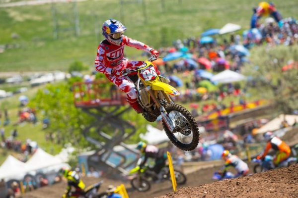 Roczen has two overall victories and has won five out of six motos. Photo credit: Simon Cudby.