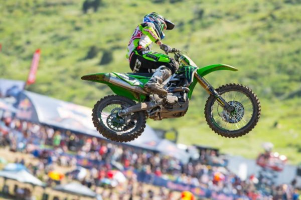 Tomac finished third at his home race. Photo credit: Simon Cudby.