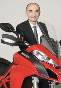 CEO Claudio Domenicali guided Ducati to sales of 54,908 motorcycles in 2015 — nearly 10,000 more than were sold in 2014.